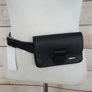 New Nine West Faux Leather Mini Belt Bag
